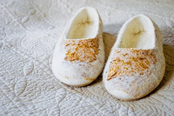Slippers  WHITE GOLD