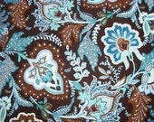 YART SALE Java Blue Vera Bradley Fabric 1 Yard Extra Wide 36 by 60