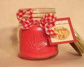 Apple Pie 8oz All Natural Hand-Poured Soy Candle