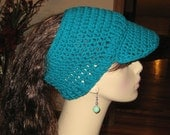 Teal Billed Dreadband Hat