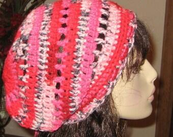 Slouchy Beanie Dread Tam Crochet Hat
