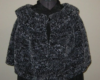 Crochet Night Out Cape