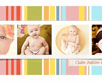 Claire Rep Card Templates for Photographers