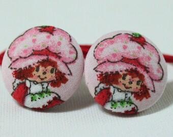Vintage Strawberry Shortcake......2 PONYTAIL HOLDERS