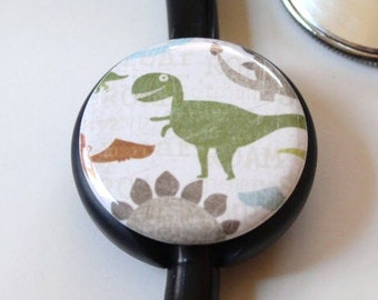 The ORIGINAL Stethoscope ID Tag--Dinosaurs---