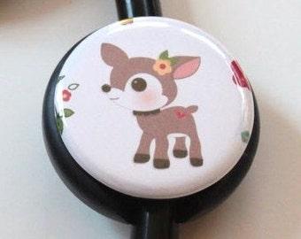 Deer----Stethoscope ID Tag