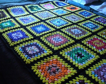 New Granny Square Afghan