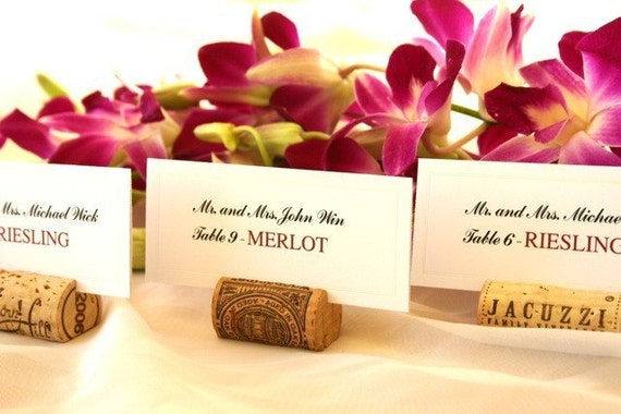 Wine Cork Place Card Holders, set of 120