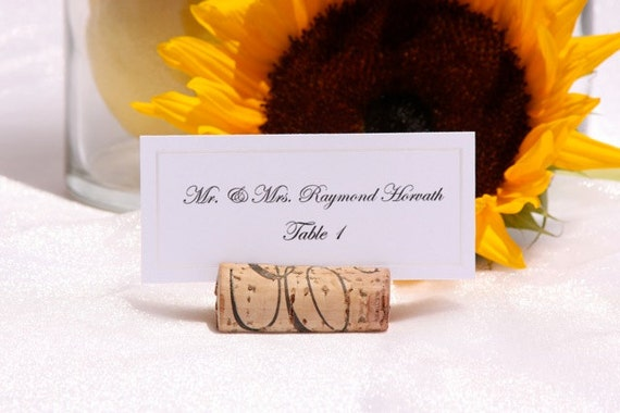 Wine Cork Place Card Holders - Set of  115  (rush order)