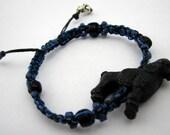 Blue Poodle Bracelet