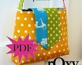 rOxy shoulder bag - PDF sewing pattern by J L Stephens Couture