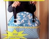 take me away - Weekend Bag - PDF Sewing Pattern - Photo Tutorial by J L Stephens Couture