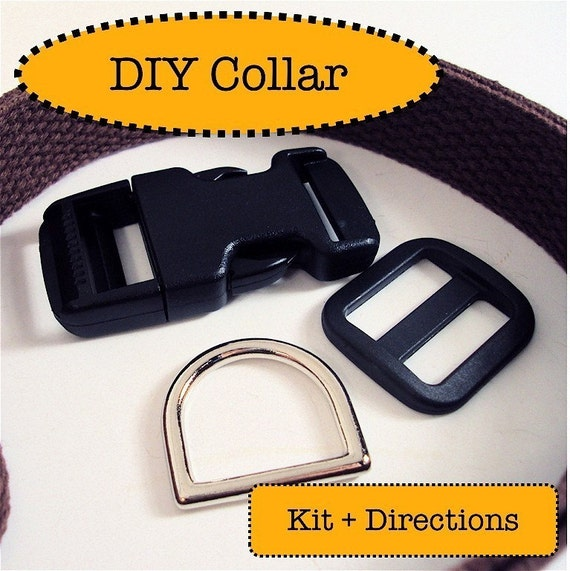 Dog Collar Kit - DIY Canine Fashion - Materials and Directions
