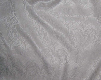 PAISLEY Silk Jacquard Fabric - 1 Yard