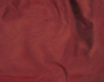 Iridescent BURGUNDY Red Silk Organza Fabric - 1 Yard