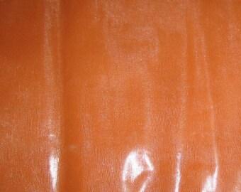 Toffee Brown Embossed Reptile Leather Hide