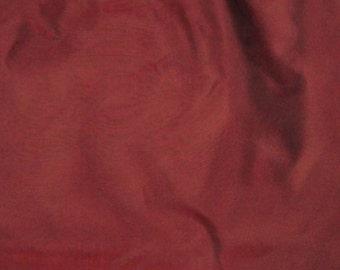 Iridescent BURGUNDY Red Silk Organza Fabric - 1/2 yard