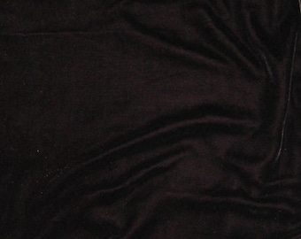 PRUNE PURPLE Silk Velvet Fabric - fat 1/4