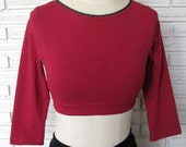 Aerial Sleeves, Crop Top, Dance Shrug, Custom Size and Color