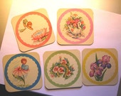 Set of 46 Vintage Coasters