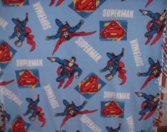 Superman No-Sew Fleece Blanket
