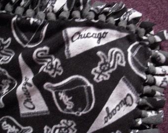 Chicago White Sox HandTied Blanket