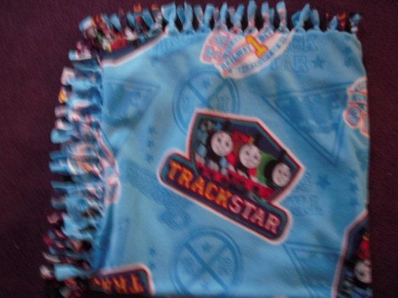 Thomas & Friends No-Sew Fleece Blanket