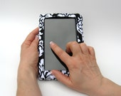 Kindle Fire Cover Stand Black and White Made to Order