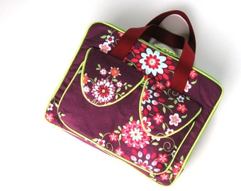 iPad Case iPad Briefcase iPad Bag Made to order in Your Fabric Choice