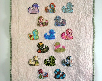 PDF Quilt Pattern Rubber Ducky