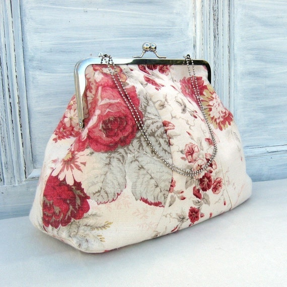 Vintage Style Frame Bag Sewing Pattern Instant Download