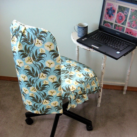 Custom Office Chair Slip Cover Made To Measure By Studiocherie