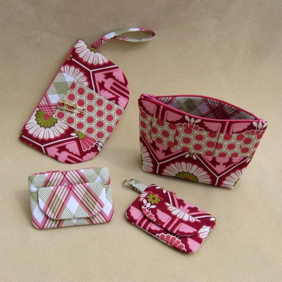 PDF Sewing Pattern Zip Pouches A to S