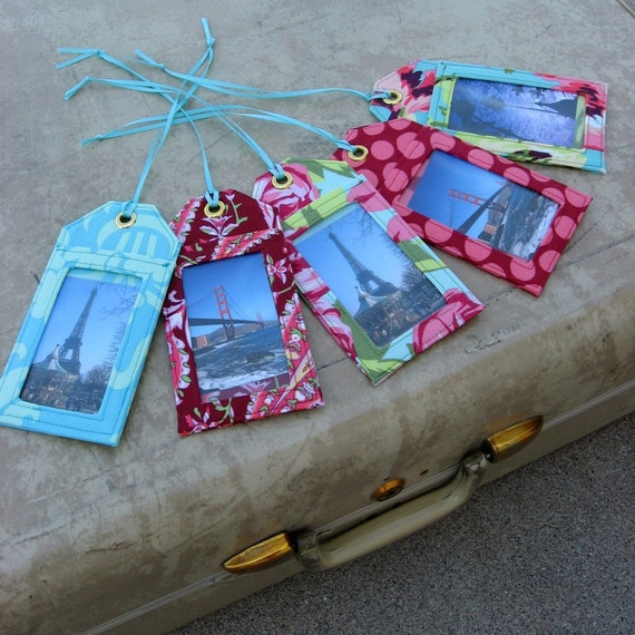 Sew these Luggage Tags Instant PDF Pattern