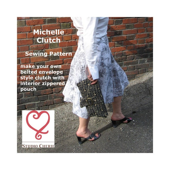 Sewing Pattern for Original Michelle Clutch