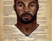 Limited Edition (50) Print of Rasheed Wallace