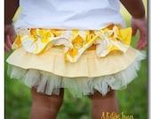 Lemony Ruffle Bottom Bloomers
