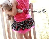 Damask Ruffle Bottom Bloomers