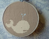 Cute Whale. Best Selling Cross Stitch Pattern PDF Instant Download