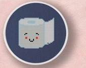 Toilet Paper. Cross Stitch PDF Pattern