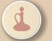 Perfume Bottle. Cross Stitch PDF Pattern