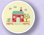 Our Sweet Home. Home Sweet Home Best Selling Cross Stitch Pattern. PDF File