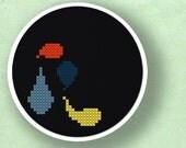 Colorful droplets 1. Cross Stitch Pattern