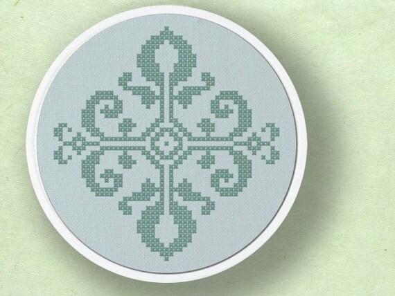 Design No.7 . Cross Stitch PDF Pattern