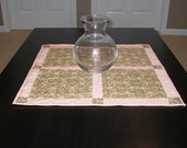 Moda's Allspice Tapestry Square Table Topper NOW ON SALE for half off the original price