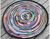 Round Rag Rug 40 inches