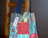 Patchwork Tote Bag - OOPS