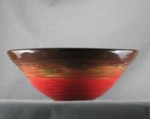 Red and Brown Bowl - BeauMaris