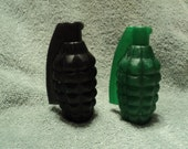 Grenade Soap Set -Men's Soap -  Birthday gift. Party favor. Stocking Stuffer. Bridal Party favor.