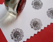 Sunflower Rubber Stamp   Handmade rubber stamps by BlossomStamps